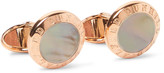 Dunhill - Rose Gold-plated Mother-of-pearl Cufflinks