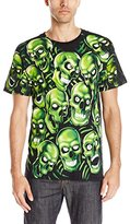 Liquid Blue Men's Skull Pile T-Shirt