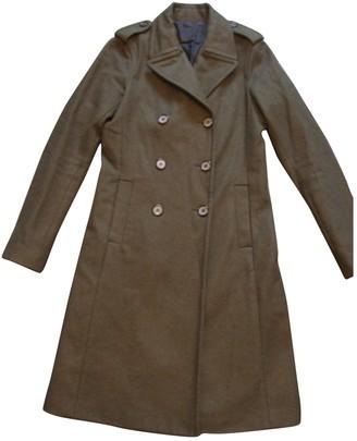 Nili Lotan Green Wool Coat for Women