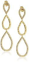 "Gorjana Holiday"" Nora Shimmer Teardrop Earrings"