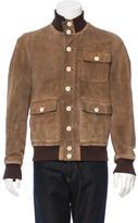 Alexander McQueen Suede Distressed Jacket