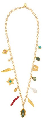 Sylvia Toledano - Lucky Charm Gold-plated Necklace - Gold