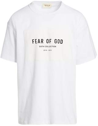 Fear Of God Sixth Collection Logo T-Shirt