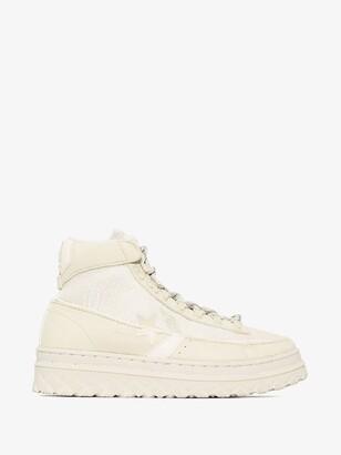 Converse Neutrals X Paria Farzaneh Neutral Pro Leather X2 High Top Sneakers
