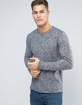 Esprit Knitted Sweater with Raw Hem Detail