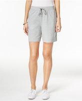 Karen Scott Petite Drawstring Shorts, Only at Macy's