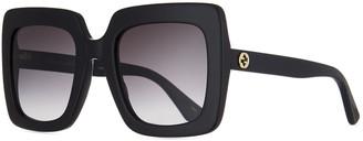 Gucci Square Acetate Gradient Sunglasses