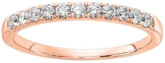 Fire Light Lab Grown Diamond 14K Wedding B and, 3/10 cttw