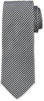 BOSS Neat Silk Tie, Gray