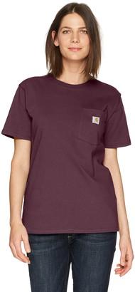 Carhartt Women's WK87 Workwear Pocket SS T-Shirt