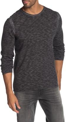 John Varvatos Space Dye Knit Pullover Sweater