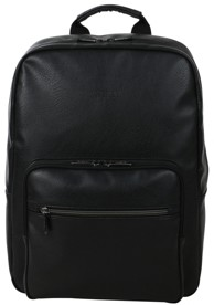 """Thumbnail for your product : Kenneth Cole Reaction Vegan Leather 15"""" Laptop Backpack"""