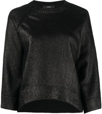 Diesel Shine Effect Wool Jumpers