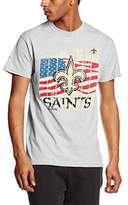 Majestic Athletic Men's Saints Regular Fit Short Sleeve T-Shirt