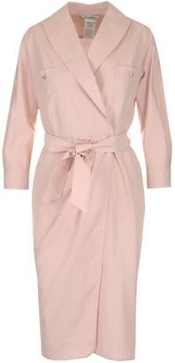 Max Mara Kimono Wrap Dress