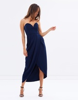 Shona Joy Core U-Wire Drape Dress