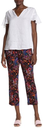 Catherine Malandrino Pull On Printed Relaxed Pants