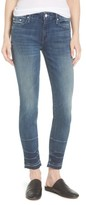 Mother Women's The Looker Frayed Ankle Skinny Jeans