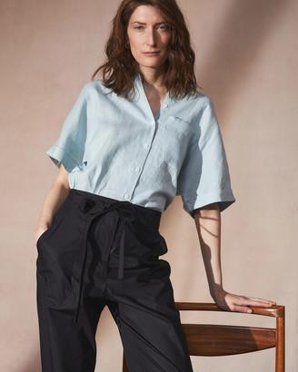 Jigsaw Short Sleeve Linen Shirt