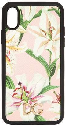 Dolce & Gabbana Lily Print I Phone Xr Cover