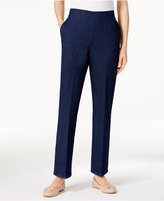 Alfred Dunner Scenic Route Pull-On Straight-Leg Pants