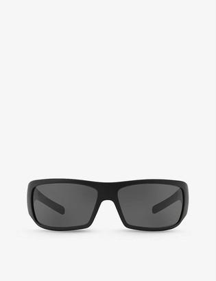 Prada Linea Rossa PS 01LS rectangular-frame acetate sunglasses