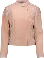 J Brand Cardiff leather and suede jacket