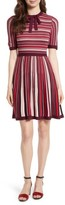 Kate Spade Women's Stripe Sweater Dress