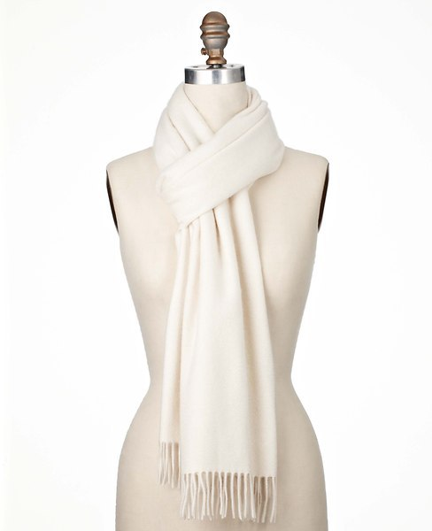 Ann Taylor Cashmere Waterweave Wrap