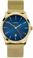 Sekonda Men's Gold Tone Mesh Bracelet Watch