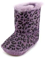 UGG I Cassie Leopard Infant US 2 Purple Winter Boot