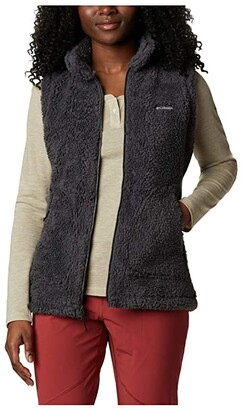 Columbia Winter Passtm Sherpa Vest (Chalk) Women's Clothing