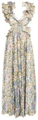Zimmermann Super Eight Ruffle Gown