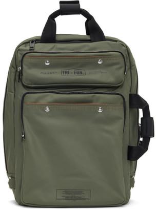 Diesel Green Trophy Backpack
