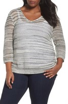 Nic+Zoe Plus Size Women's New Dawn Top