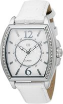 Tommy Hilfiger Women's Classic Tourneau Stainless Steel White Watch 1780929