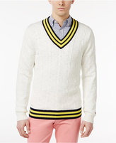 Tommy Hilfiger Men's Coast Cricket Cotton Sweater