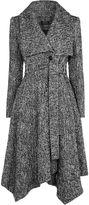 Karen Millen Tweed Coat - Grey