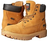 Timberland Direct Attach 6 Soft Toe (Wheat Nubuck Leather) Men's Work Lace-up Boots