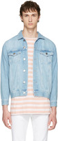 Han Kjobenhavn Blue Denim Base Jacket