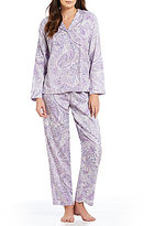 Lauren Ralph Lauren Paisley Sateen Pajamas