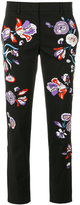 Emilio Pucci floral embroidered trousers