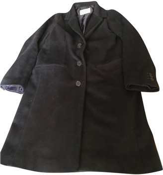 American Vintage Navy Polyester Coats
