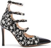 Altuzarra Isabella Multi Strap Mary Jane Heels