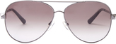 Valentino Aviator-style sunglasses