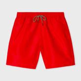 Paul Smith Men's Classic-Fit Red Long Swim Shorts