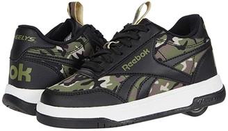 Heelys Court Low (Little Kid/Big Kid/Adult) (Black/Cap Olive/Safari) Boy's Shoes
