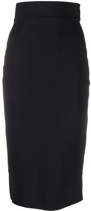 Le Petite Robe Di Chiara Boni Delfina high-rise pencil skirt
