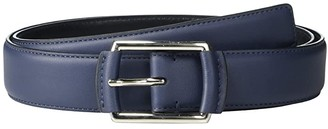 Calvin Klein 32 mm Center Bar with Self Wrap (Cuoio) Men's Belts