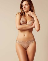 Agent Provocateur Casella Thong Rose Gold